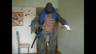 Mi disfraz de tortuga ninja
