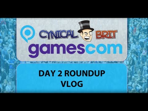 Gamescom Coverage : Day 2 Roundup Vlog