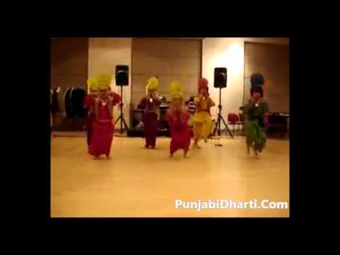 Kids Doing Bhangra....Via PunjabiDharti.Com