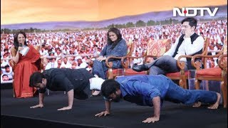 NDTV Youth Conclave's Fitness Challenge - NDTV