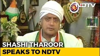 """BJP May Do Better Than Left,"" Shashi Tharoor Tells NDTV On Kerala Fight - NDTV"