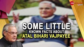 Atal Bihari Vajpayee passes away at 93; Know some little-known facts about Former PM - ZEENEWS