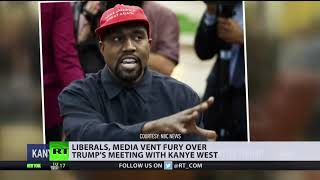 'Kanye needs help': Liberals vent fury over Trump's meeting with US rapper in Oval Office - RUSSIATODAY