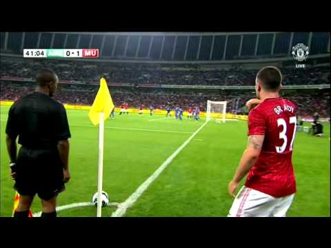 Shinji KAGAWA FIRST AMAZING TOUCHES ! AmaZulu vs Manchester United 0-1 Highlights