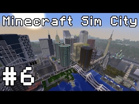 Minecraft Sim City (1.8 Snapshot) Simburbia #6