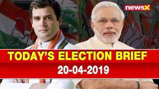 Today Top Election News: Dhruv Lal raised objections against Rahul Gandhi nomination, UK Citizenship - NEWSXLIVE