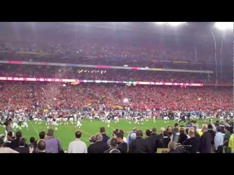 The Auburn Tigers win the 2011 BCS National Championship. The final kick. (HD)