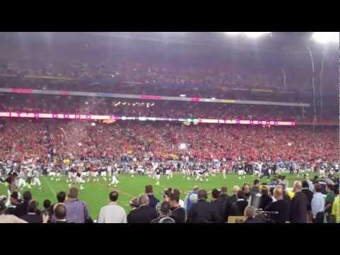 The Auburn Tigers win the 2011 BCS National Championship. The final kick. (HD)