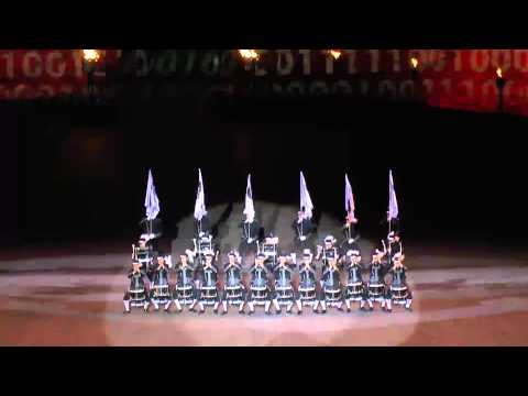 Top Secret Drum Corps - Royal Edinburgh Military Tattoo 2012