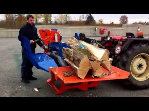 Despicator de lemne orizontal PRO 35 pentru busteni