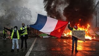 Round 4: Yellow Vests protest in Paris (Pt.3) - RUSSIATODAY