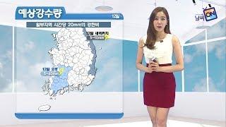[날씨정보] 08월 11일 17시 발표