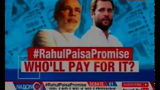 Rahul Gandhi announces Basic Income Scheme for 20% of poor with Rs 6,000 per month, Who'll pay? - NEWSXLIVE