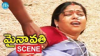 Mynavathi Movie Scenes - Chithralekha Worries About Anil || Gundu Hanumantha Rao || Tirupati Prakash - IDREAMMOVIES