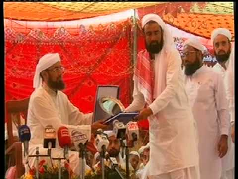 Distribution of awards and shields by Hazrat Khwaja Sajjan Saeen - Urs Mubarak 2012