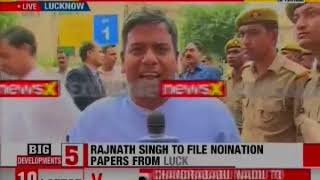 Rajnath Singh to File Nomination Papers From Lucknow, Opposition Yet to Field Candidate - NEWSXLIVE