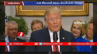 "US President Trump Declares ""National Emergency""  