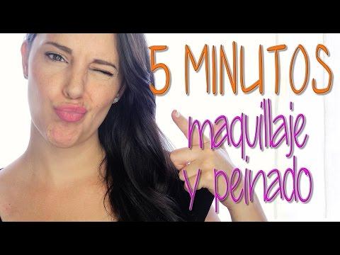 Maquillaje 5 minutos y peinado 5 minutos | Silvia Quiros