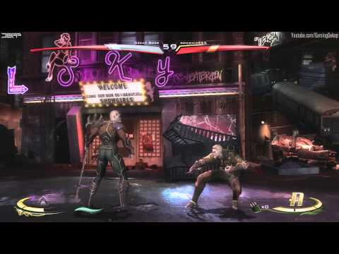 Injustice Gods Among Us - Lets Win Online 1v1 Ranked Matches Gameplay