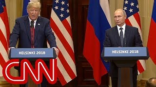 Reporter asks Putin: Do you have compromising info on Trump? - CNN