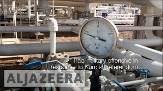 Kurds lose vital oil fields after Iraqi forces capture Kirkuk - ALJAZEERAENGLISH