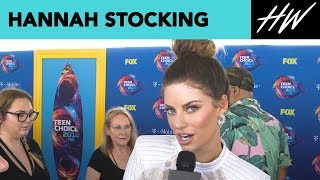 Hannah Stocking Fangirls Over BFF Lele Pons! | Hollywire - HOLLYWIRETV