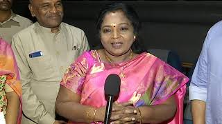 Governor Tamilisai Soundararajan about Sye Raa - idlebrain.com - IDLEBRAINLIVE