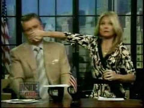 Inside Edition on Kelly Ripa/Clay Aiken hand incident