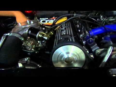 Motor AP 1.9 Turbo .50 funcionando