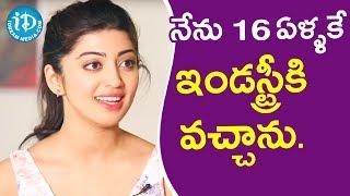 నేను 16 ఏళ్ళకి ఇండస్ట్రీకి వచ్చాను. - Actress Pranitha || Talking Movies With iDream - IDREAMMOVIES