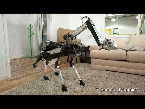 Prezentacja czworonożnego robota SpotMini