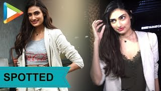 Athiya Shetty SPOTTED at Yauatcha - HUNGAMA