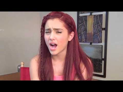 ARIANA GRANDE from VICTORIOUS tells how she would Get a Guy s Attention 