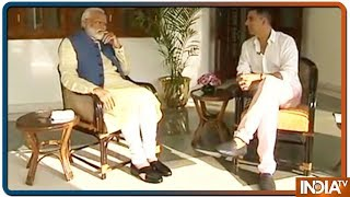 PM Modi talks about his determination | Watch - INDIATV