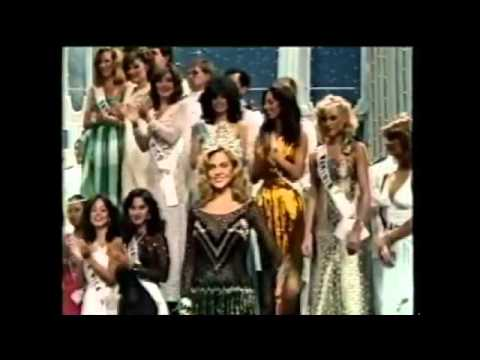 Shawn Weatherly's Farewell Walk (MIss Universe 1980)