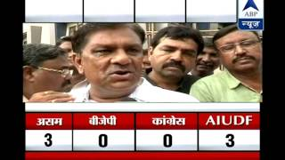 BJP wins Maninagar seat in Gujarat l Candidate Suresh Patel says 'thank you!' - ABPNEWSTV