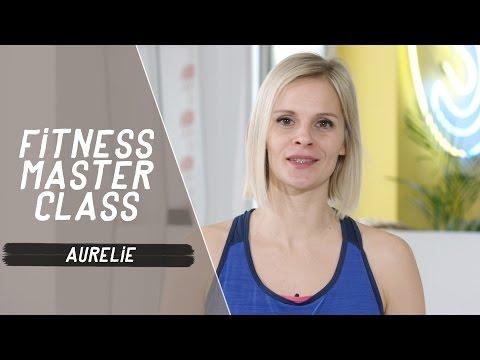 Dimanche, vous avez rendez-vous avec Aurélie dans les Fitness Master Class !