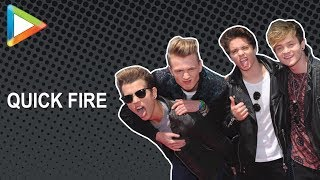 The Vamps answer some QUICK FIRE QUESTIONS!!! - HUNGAMA