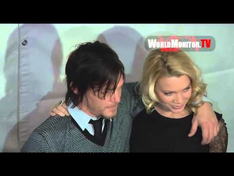 Norman Reedus 'Daryl Dixon' arrives at The Walking Dead Panel PaleyFest 2013