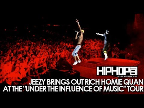 "Jeezy Brings Out Rich Homie Quan At ""Under The Influence"" Tour"