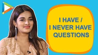 STOLEN something from a hotel, initiated a KISS & regretted? Nidhhi Agerwal's fun answers - HUNGAMA