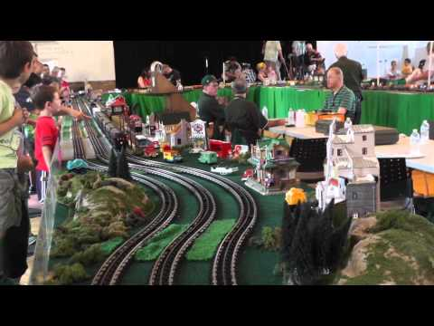 National Capital Trackers at the 2014 Kensington Train Show