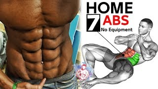 BEST 7 ABS EXERCISES Home Workout