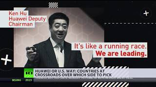 Huawei or US way? The fight for 5G dominance - RUSSIATODAY