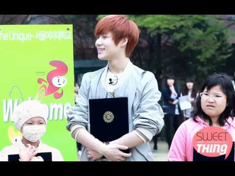 110429 Computer Engineering Lee Taemin fancam @ Seoul Women's University