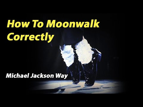 How to Moonwalk Correctly