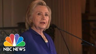 Clinton Blasts Trump Immigration Policy: Family Separation 'An Affront To Our Values' | NBC News - NBCNEWS