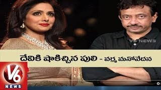 RGV Controversial Comments on Sridevi Character | Puli Movie
