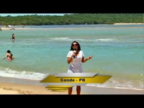 Praias da Costa do Conde e Tambaba (Praia de Nudismo, Naturismo) - Paraíba (PB) - Parte 02