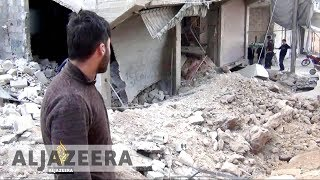 Air strikes kill dozens in Syria's besieged Eastern Ghouta - ALJAZEERAENGLISH
